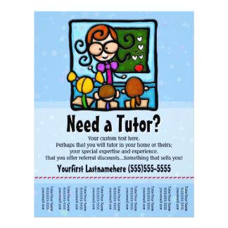 Tutor.Tutoring.Custom text/color Full Color Flyer