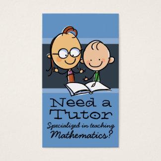 Tutor.Tutoring.Teacher.Learning Specialist Business Card