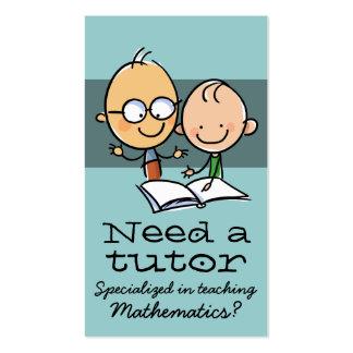 Tutor Tutoring Teacher Make money tutoring Double-Sided Standard Business Cards (Pack Of 100)