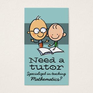 Tutor Tutoring Teacher Make money tutoring Business Card