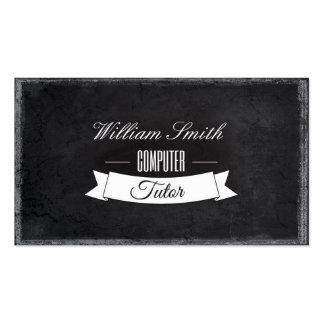 Tutorial Computer Business Card