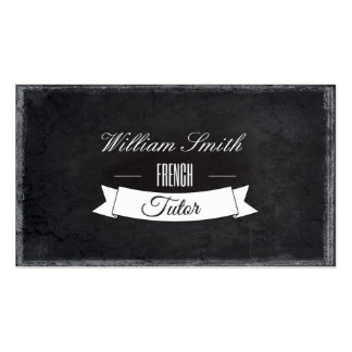 Tutorial French Business Card