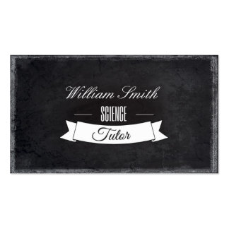 Tutorial Science Business Card