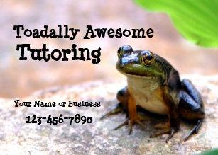 Reading tutor business cards templates zazzle tutoring business card colourmoves