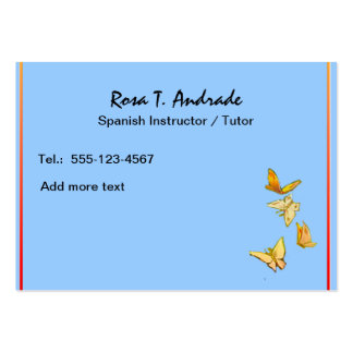 5 000 Spanish Business Cards and Spanish Business Card