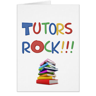 Tutors Rock Card