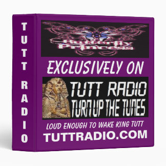 Tutt Radio Butterfly Princess's Binder
