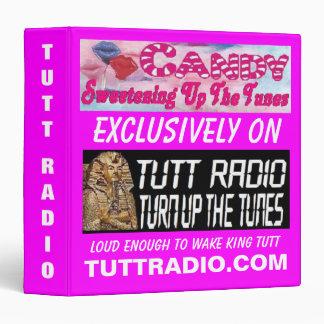 Tutt Radio Candy's Binder