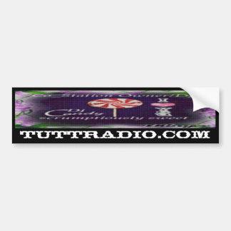 Tutt Radio Candy's Bumper Sticker Car Bumper Sticker