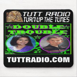 Tutt Radio Double Trouble's Mousepad