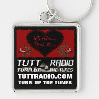 Tutt Radio Glitterz s Keychain