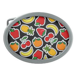 Tutti frutti, belt buckle