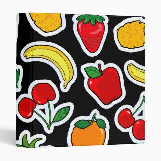 Tutti frutti, binder