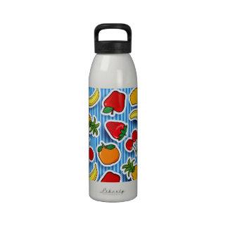 Tutti frutti, bottle reusable water bottle