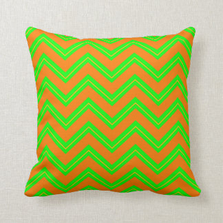 Tutti Frutti Chevron 10-Square Throw Pillow