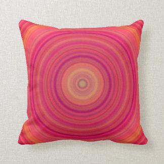 Tutti Frutti Circles Throw Pillow