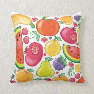 Tutti Frutti Throw Pillows