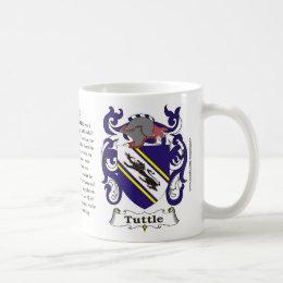 Tuttle Family Coat of Arms Mug