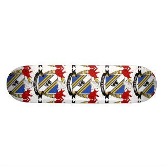 Tuttle Family Crest Skate Board Deck