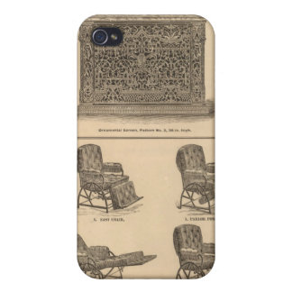 Tuttle y Bailey Manufacturing Company iPhone 4 Protectores