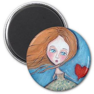 Tutto l'amore 2 inch round magnet