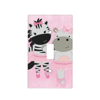 Tutu Cute Animal Ballet Light Switch Cover