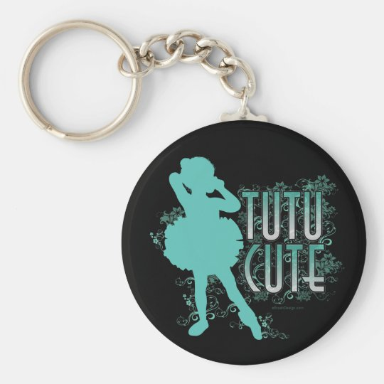 TuTu Cute (Aqua) Keychain