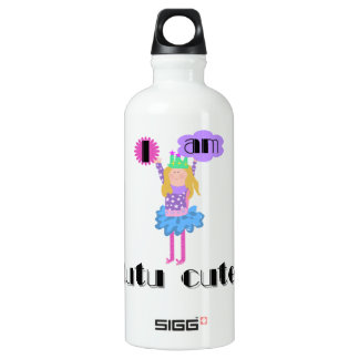 Tutu Cute Ballerina Water Bottle