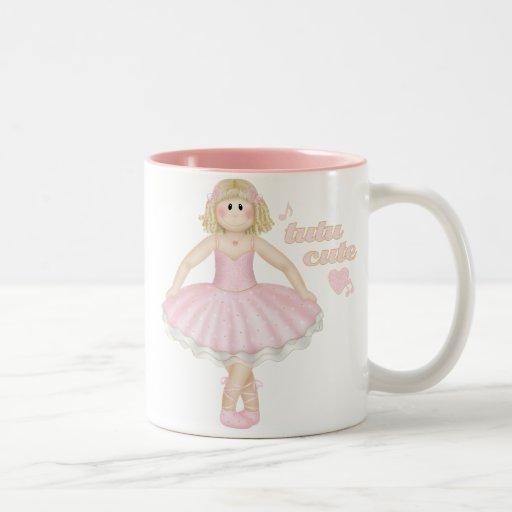 Tutu Cute (Blonde) – Mug