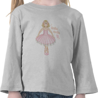 Tutu Cute (Blonde) – Toddler Long Sleeve T-Shirt