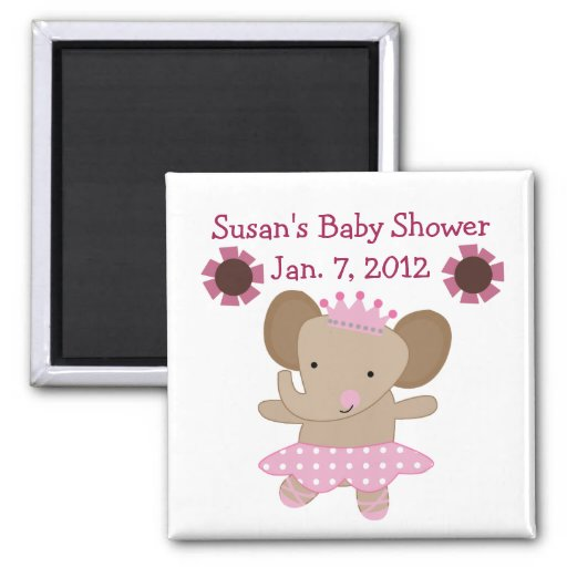 Tutu Cute Elephant Magnet/Keepsake/Party Favor Magnet
