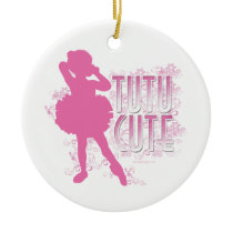 TuTu Cute Pink Christmas Tree Ornament
