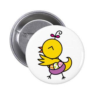 Tutu la Chick Button