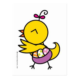 Tutu la Chick Postcard
