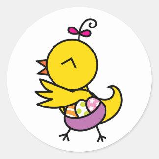 Tutu la Chick Sticker