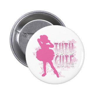 Tutú lindo (rosa) pin
