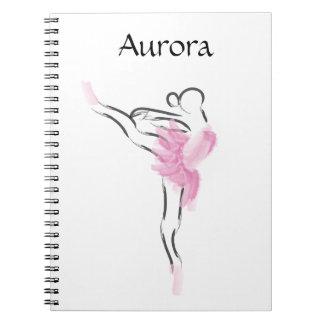 Tutu Love Aurora Notebook