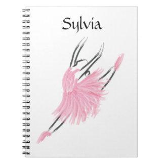 Tutu Love Notebook Sylvia