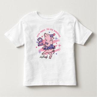 Tutu Piggy 3rd Birthday Custom Tee Shirts