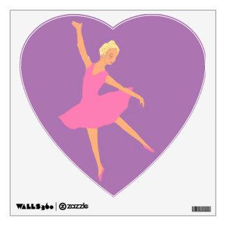 Tutú rosado de la bailarina vinilo