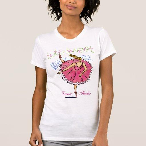 Tutu Sweet Ballerina customizable T Shirt