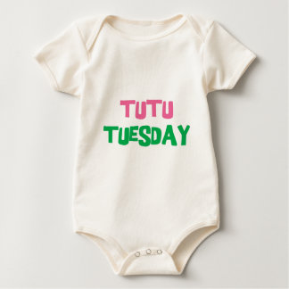 Tutu Tuesday Baby Bodysuit