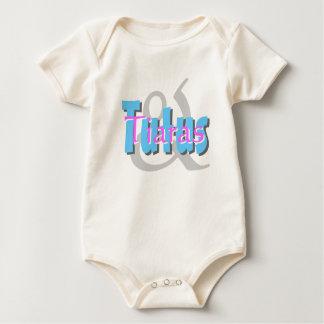 Tutúes y tiaras body para bebé