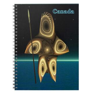 Tuvaaq - Fractal Inuit Hunter Notebook
