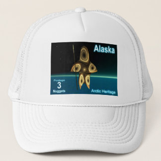 Tuvaaq - Fractal Inuit Hunter Trucker Hat