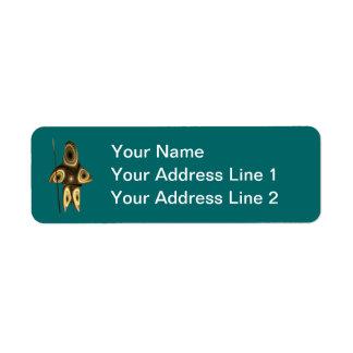 Tuvaaq - Inuit Hunter Custom Return Address Label