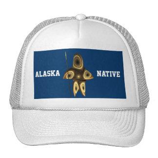 Tuvaaq - natural de Alaska Gorros Bordados