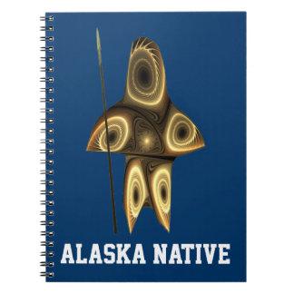 Tuvaaq - natural de Alaska Spiral Notebooks