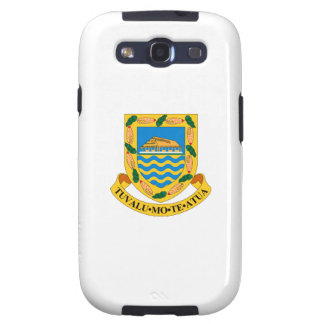 Tuvalu Coat of Arms Galaxy SIII Case