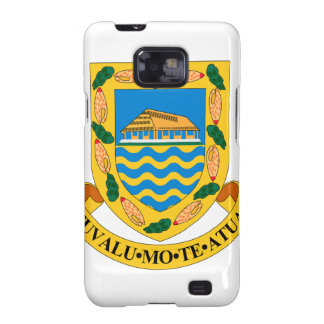 Tuvalu Coat of Arms Galaxy SII Cover